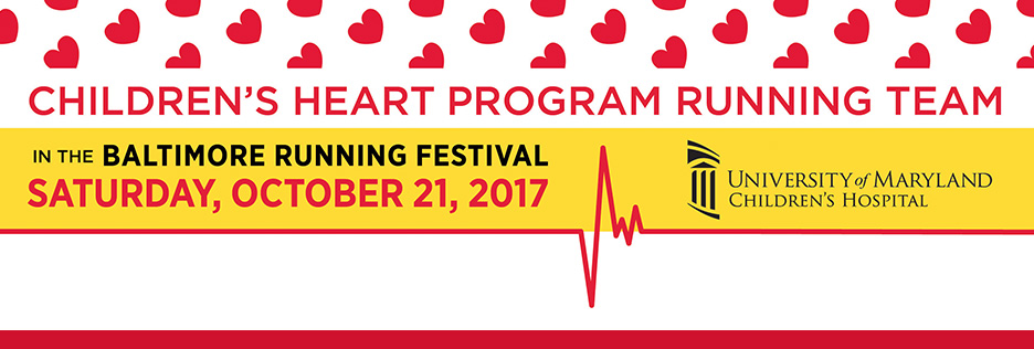 Children's Heart Program Running Team 2017