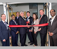 Transplant Center ribbon cutting